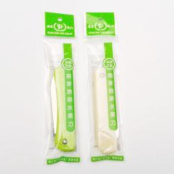 Mango de plástico Frutas Verduras Cocina Cortador de cuchilla de emparejamiento de la herramienta de la Cuchillería Cuchillo plegable frutas