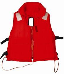 Adulto Orange-Red Vida Segurança Vest com colar (LV001)