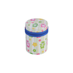 Горячая продажа раунда молнией Тин может герметичной продовольственной контейнеры для хранения конфеты металлического олова