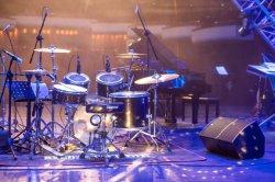 Salón de banquetes Sala de reuniones, Monitor de escenario Rock Bar