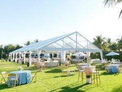 Высокое качество ясно открытый склад для хранения событий свадьбы прозрачный большой Span Палатка для продажи
