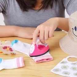 미니 열식 프레스 기계, 미니 철 열전사 기계(충전 베이스가 있는 휴대용 액세서리), DIY 의류, 티셔츠, 신발, 가방, 모자