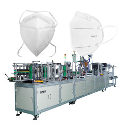 Livraison rapide automatique de la chirurgie KN95/N95 Masque Making Machine