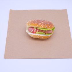 갈색 종이 포장 가방 도매 사용자 지정 선물 조직 롤 인쇄 금 포장재활용할 수 있는 양각된 포장지