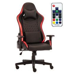 최고의 편안한 가죽 PVC 버터플라이 틸트 메커니즘 인체공학적 마사지 게임 의자