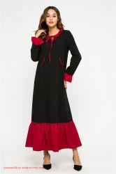 Le Kimono manchon Dess musulman islamique abaya de vêtements pour femmes de nouvelles conceptions Collection Été coton marocain Kaftan Caftan Hijabs longue robe de soirée