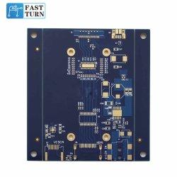 6 층 Fr4 저속한 Gold+Hard 금 Tg170 PCB 인쇄 회로판 FM 라디오 PCB