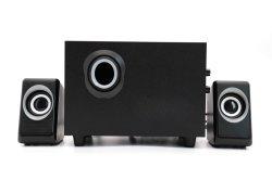 سماعة USB Power Bass PC/الكمبيوتر 2.1 مع 3 بوصة مضخم الصوت