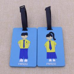 La promotion de la moins chère en PVC souple Luggage Tag