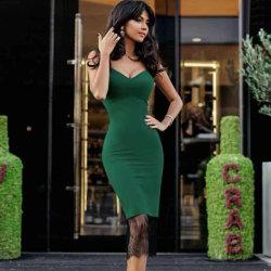 Frauen Solid Color Hosenträger Slip Kleid Ärmellos Plus Größe Tight Kleid Mini Spaghetti Strap Damen Rock