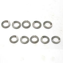 ステンレス鋼304 316 316Lまたがり式のスプリングウオッシャーの/DIN128の波のタイプ曲げられたばねロック洗濯機