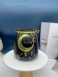 Produttore Direct Wholesale vetro fiore Pot, contenitore di vetro, vetro candela vaso, vetro colorato personalizzato vetro in piedi trasparente cristallo portacandele