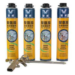 750 мл расширение двери и окна заполнение расширения герметичность Spray PU полиуретановый клей из пеноматериала