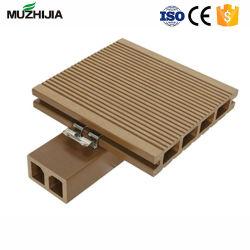 固体WPCのDeckingの床の土台板のアクセサリの木製のプラスチック合成のキール