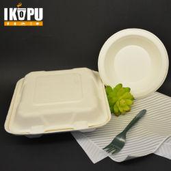 Biodegradável Embalagem Descartável Recipiente de alimentos