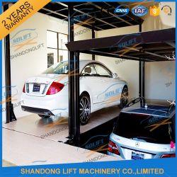 6t 3m двухэтажных автостоянка гараж с электроприводом для мобильных устройств в гидравлической системе подъема автомобиля с маркировкой CE