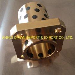 C86300 o flange da bucha de bronze com lubrificantes sólidos de Rolamento