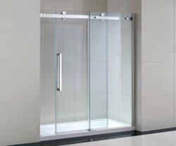 샤워 울안을%s 샤워 문을 미끄러지는 큰 롤러 노력하지 않는 알루미늄 합금
