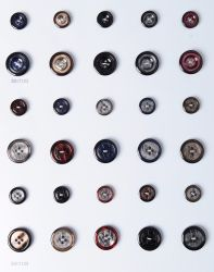 Los botones de resina de láser para que se adapte a