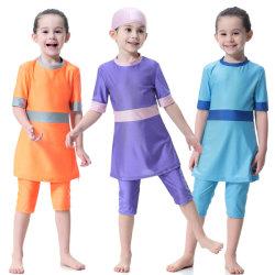 Neuer Entwurf scherzt Sommer Isiamic moslemische Badebekleidung für Kinder