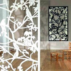 Оптовая торговля высококачественный алюминиевый изготовленный на заказ<br/> полой стене искусства лазерной резки металла на стену Арт стиле с OEM и ODM