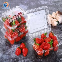 신선한 과일 야채를 위한 도매 처분할 수 있는 플라스틱 음식 콘테이너