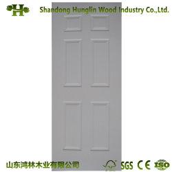 La Chine usine WPC Porte en plastique en bois composite de la peau ou feuille de porte