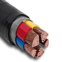 Kern-Drahtseil Belüftung-Kabel-bearbeitet elektrischer Drahtseil-Energien-Kabel Belüftung-Drahtseil-Strangpresßling des XLPE Kabel-4 XLPE Kabel-Seilzug-Gebrauch für Stromnetz maschinell