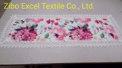 Het Tafelkleed van de polyester en van het Kant, Warm en Comfortabel