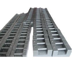 Material de hierro fundido de calibración de la clase M peso masivo