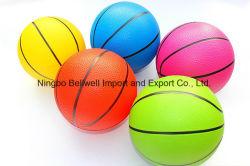 Promocionales baratos juguetes inflables de PVC de 6 pulgadas mini baloncesto