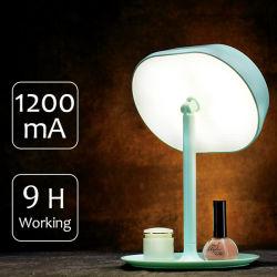 De Lamp van het navulbare LEIDENE Bureau van de Spiegel (voor schoonheidsmiddelen en lezing)