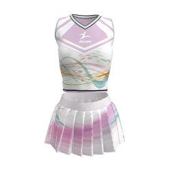 신선한 디자인 치어리더 드레스 패션 의류 맞춤형 여학생 치어리더 유니폼