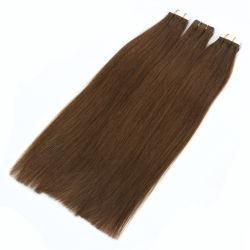 أعلى جودة كامل cutcle PU جلد الشعر النفيء 100 غ/قطعة برازيلية شريط الشعر امتداد الشعر 18-- 28 بوصة في المخزون