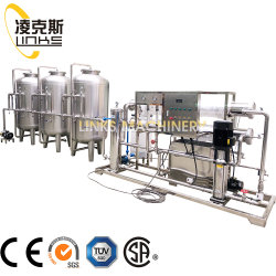Sistema de ósmosis inversa del Sistema de Tratamiento de Agua del Sistema de purificación de agua Filtro de agua para la fábrica de bebidas