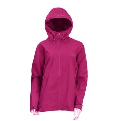Randonnée pédestre de la femme veste légère Wr coupe-vent manteau de pluie avec capot