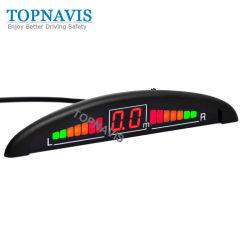 Sistema del sensore di inverso della visualizzazione di LED per parcheggio dell'automobile