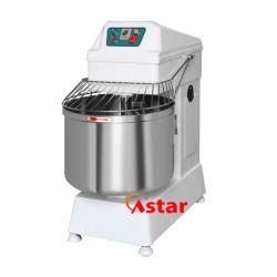 80L 33kg Double spirale double vitesse du moteur de la pâte à pain Mixer Mixer Food Processor