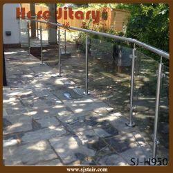 Baluster en acier inoxydable pour le système de rampe d'escalier de verre (SJ-H950)
