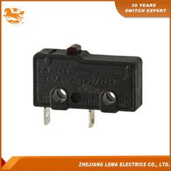 5A 250VAC elektrischer Minimikroschalter Kw12-0c