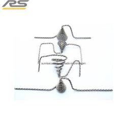 W-1 Twisted filament de tungstène/tungstène pur avec des brins de fil