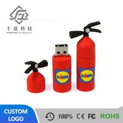 Красный Новинка ПВХ огнетушитель форму флэш-накопитель USB