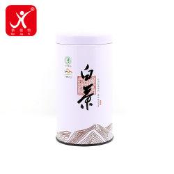 Embalagens de metal de moda nova lata cigarro branca personalizada com fornecedor grossista para venda de colo em lata