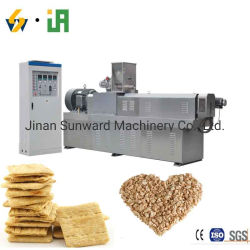 Automatic Soy Meat Processing Line Todessing Line Todgetable Soya Protein TSP تفيب إتكسورادر