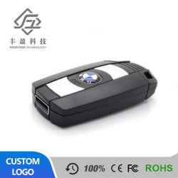 Calientes al por mayor Venta de coches personalizados de forma de llave USB Flash Drive