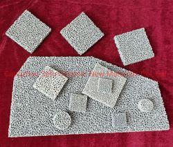 고품질 Sic 실리콘 탄화물 철 주물을%s 다공성 세라믹 거품 필터