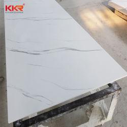 Het vrije Blad van de Oppervlakte van de Plakken van de Steen van de Steekproef Kunstmatige Marmeren Acryl Stevige