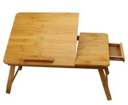 Presente de Natal Notebook de bambu Turismo ajustável para mobiliário de escritório