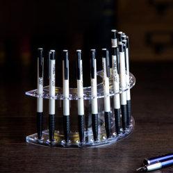 À la mode socle acrylique Pen Display, affichage de fabrication fixes