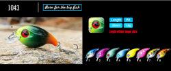 Промысел рыболовных Crankbait Lures форель наживка промысел Lures для усиления низких частот крюк хранения паролей